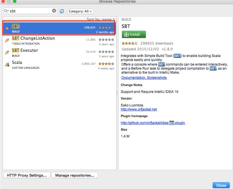 既存の sbt プロジェクトを IntelliJ IDEA にインポート - Qoosky